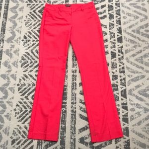 Express dress pants - editor style red